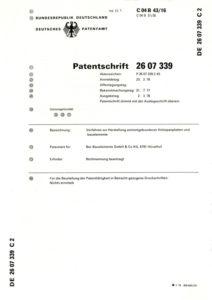 BER-Patentschrift